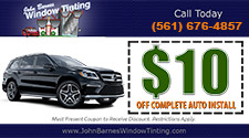 $10 OFF Complete Auto Install